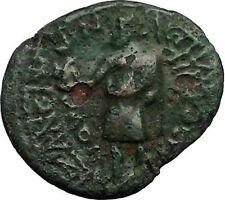 CLAUDIUS 41AD Aezanis in Phrygia ZEUS EAGLE Authentic Ancient Roman Coin i57533