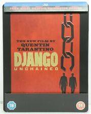Django Unchained (UK,Region free) Steelbook Blu-ray Quentin Tarantino