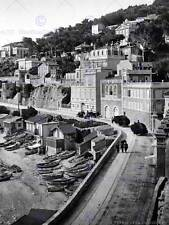 Road marseille france vintage old bw photo print 12x16 pouces poster art 474BW