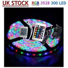 Waterproof 2x5m 3528 SMD 600 LED RGB Light Lamp Flexible Strip Ribbon FK Fkd1