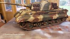Torro king tiger custom painted 1/16 rc tank