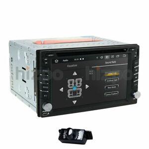 6.2'' Android 10 HD WiFi Double 2Din Car Radio Stereo GPS Navi CD DVD Player SWC