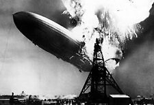"Zeppelin /'Hindenburg 13x19/"" Photo Print"