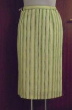 Neuer Damenrock   Gr.36  grün gestreift  gefüttert   Polyester     Nr. 4791