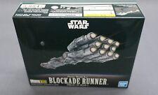Star Wars Vehicle Model 014 Blockade Runner (New Hope) Model kit Bandai Japan***