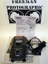 Ryobi One+ Intelliport P118 18 Volt NiCad Lithium Battery Charger New & w Manual