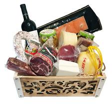 Strenna di Natale PLATINUM BOX 2 - Cesto Natalizio Gastronomico salumi formaggi