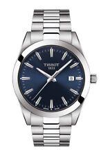 New Tissot Gentleman Blue Dial Swiss Quartz Men's Watch T1274101104100