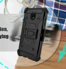For Nokia 3.1A / Nokia 3.1C - Hybrid Holster Combo Hard Case Cover + Belt Clip