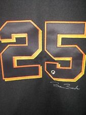 Barry Bonds Auto SF Giants Authentic Russell Jersey . BARRY BONDS HOLOGRAM
