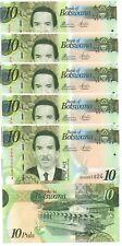 Botswana - 5 pcs x 10 Pula 2014 UNC paper Lemberg-Zp