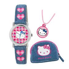 * Nouveau * Hello Kitty Kids Montre, Collier et sac à main Set