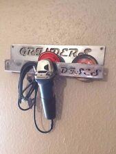 "4 1/2"" Angle grinder wall holder + Storage Rack for 2 DeWalt Milwaukee Makita"