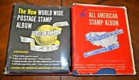 CatalinaStamps:  WW & US Stamp Collections in 2 Minkus Albums, 1313 Stamps, D358