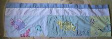 Kidsline Blue Green Turtle Fish Stingray Sea Life Nursery Baby Window Valance EU
