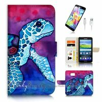 ( For Samsung Galaxy S7 ) Case Cover P3222 Turtle