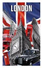 Capital Londres PAÑO COCINA Souvenir Regalo Union Jack Big Ben Negro taxi rojo