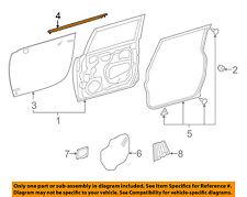 TOYOTA OEM Front Door Window Sweep-Belt Molding Weatherstrip Right 6816135073