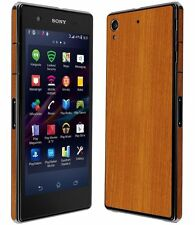 Skinomi Light Wood Full Body Skin+Screen Protector Cover for Sony Xperia Z1S
