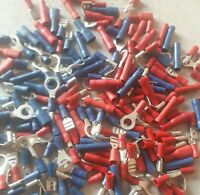 Red Blue And Yellow Electrical Crimp Connectors / Terminals