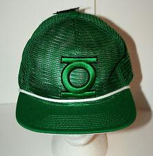 Green Lantern Dc Comics Logo Classic Retro Mesh Snap Back Cap Hat New Osfm 2014