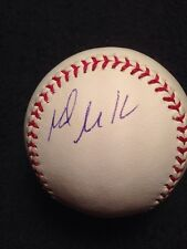 New listing Mark Mulder Signed Autographed Official Major League Baseball A's Single Auto