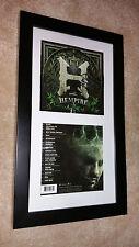 BERNER Hempire SIGNED AUTOGRAPHED FRAMED DISPLAY Baby Bash E-40 Rap Rapper #A
