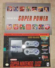 New Super Nintendo Entertainment System: Super SNES Classic Edition bundle