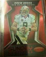 2016 CERTIFIED SUNDAY CERTIFIED RED #17 DREW BREES 36/99