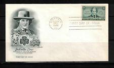 US 1948: #974: Juliette Low Girl Scouts UA Artmaster FDC; Badge - Lot#4/3