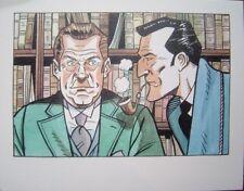 Ex-libris de BONTE Sherlock Holmes #2