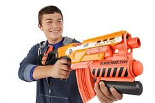 Nerf Guns 2-in-1 N Strike Elite Demolisher Blaster with Nerf Gun Bullets Darts