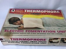 "Battle Creek Thermophore Heating Pad 13x27"" large moist heat fomentation w cover"