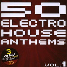 50 Electro House Anthems = Kleinenberg/DEFCON/lematic... = 3cd = groovesdeluxe!!!