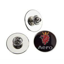 SAAB AERO METAL PIN BADGE WITH 25mm LOGO