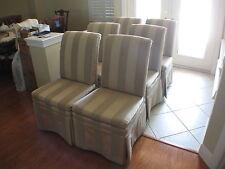 New listing 6 Norwalk Ascot Skirted Chairs