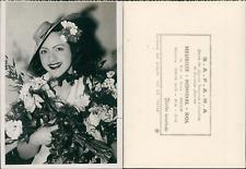 Mademoiselle France 1939 Vintage silver print Tirage argentique  13x18  19