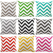 Pillow Case Bright Color Waves Pattern Cushion Cover Home Car Large Pillowcase