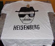 MENS T-SHIRT BREAKING BAD TV SERIES HEISENBERG WALTER WHITE TEE SIZE M HOT TOPIC