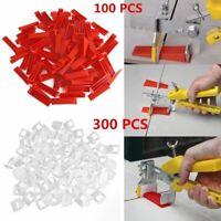 400x Fliesen Nivelliersystem Verlegehilfe Keile Laschen Fliesenverlegung Set