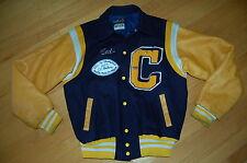 Vintage CENTRAL CATHOLIC High School RAIDERS Hip Hop Varsity LETTERMAN Jacket 48