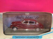 MINICHAMPS SUPERBE BMW 502 V8 LIMOUSINE DARK RED  1/43 NEUF BOITE
