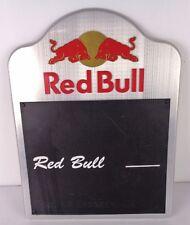red bull lavagna in alluminio