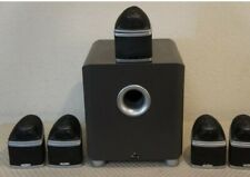 Mirage Nanosat Subwoofer and Speakers