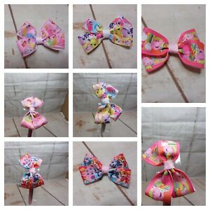 Girls Kids Children  Alice Style Bands  Hair Clips Cartoon Charactor  Ribbon