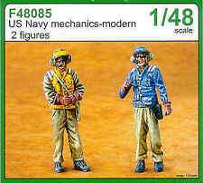 Czech Master 1/48 US Navy mechanics - modern x 2 # F48085