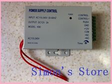 Power Supply For Door Access Control:  AC 110-240V to DC 12V 3A  SS-TECH