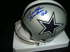 Burton Lawless autographed Dallas Cowboys mini helmet 2