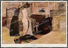 Hermann oiseau femme nue dans une maison close prostitution feu rouge clignotant érotique fétiche paris 1912