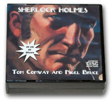 SHERLOCK HOLMES with TOM CONWAY and NIGEL BRUCE OLD TIME RADIO 20  CD - 40 SHOWS
